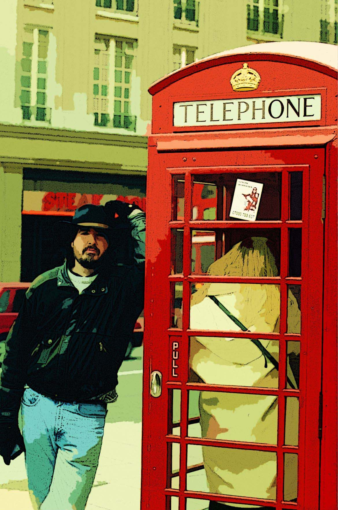 Geoff in London - Phonebox